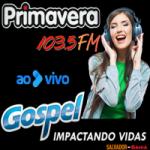 Logo da emissora Primavera FM