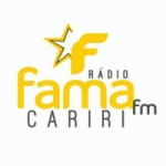 Logo da emissora Rádio Fama Cariri FM