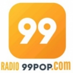 Logo da emissora Rádio 99 Pop
