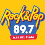 Logo da emissora Radio Rock & Pop 89.7 FM