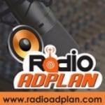 Logo da emissora Rádio Adplan