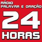 Logo da emissora Rádio Palavra e Oração 24 Horas