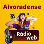 Logo da emissora Alvoradense