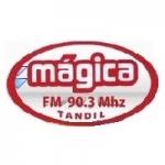 Logo da emissora Radio Mágica 90.3 FM
