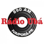 Logo da emissora Rádio Ubá 890 AM