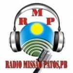Logo da emissora Rádio Missão Patos