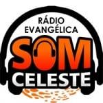 Logo da emissora Rádio Evangélica Som Celeste
