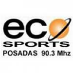 Logo da emissora Radio ECO Sports 90.3 FM
