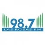 Logo da emissora Radio Las Rosas 98.7 FM