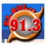 Logo da emissora Radio El Sol 91.3 FM