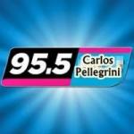 Logo da emissora Radio Carlos Pellegrini 95.5 FM