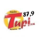 Logo da emissora Rádio Tupi 87.9 FM