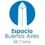 Logo da emissora Radio Espacio 89.7 FM