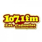 Logo da emissora Radio Estación 107.1 FM