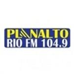 Logo da emissora Rádio Planalto Rio 104.9 FM