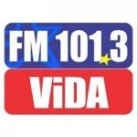 Logo da emissora Radio Vida 101.3 FM