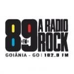 Logo da emissora 89 FM Rádio Rock 102.9 FM Goiânia