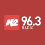 Logo da emissora Radio Estación K2 96.3 FM