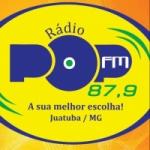 Logo da emissora Rádio Pop 87.9 FM