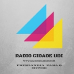 Logo da emissora Rádio Cidade Udi
