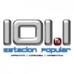 Logo da emissora Radio Estación Popular 101.1 FM