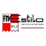 Logo da emissora Radio Estilo 91.7 FM