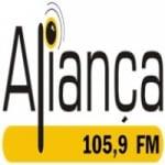 Logo da emissora Rádio Aliança 105.9 FM