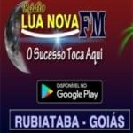 Logo da emissora Lua Nova FM