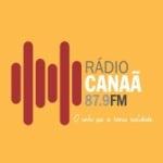 Logo da emissora Rádio Canaã 87.9 FM