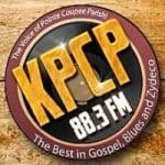 Logo da emissora Radio KPCP 88.3 FM