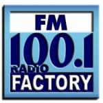 Logo da emissora Radio Factory 100.1 FM