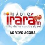 Logo da emissora Rádio Irará 104.9 FM