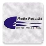 Logo da emissora Radio Famaillá 105.7 FM