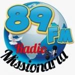 Logo da emissora Rádio Missionária 89.5 FM
