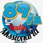 Logo da emissora Rádio Missionária FM