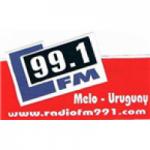 Logo da emissora Rádio Ciudad de Melo 99.1 FM
