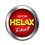 Logo da emissora Helax 93.7 FM