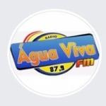 Logo da emissora Rádio Água Viva 87.9 FM