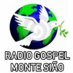 Logo da emissora Rádio Gospel Monte Sião