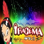Logo da emissora Iracema FM