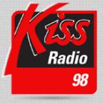 Logo da emissora Kiss 98.1 FM