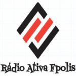 Logo da emissora Rádio Ativa Floripa