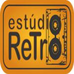 Logo da emissora Estúdio Retrô