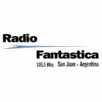 Logo da emissora Radio Fantastica 105.5 FM