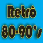 Logo da emissora Retrô 80-90's