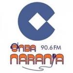 Logo da emissora Onda Naranja 90.6 FM