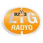 Logo da emissora Lig Radio 92.3 FM