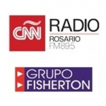 Logo da emissora Radio Fisherton 89.5 FM