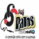Logo da emissora Rádio FM Patos