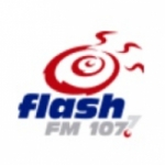 Logo da emissora Radio Flash 107.7 FM